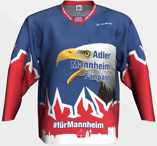 Adler Mannheim Fanpage Trikot